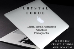 CRYSTALFORDE Ad for event